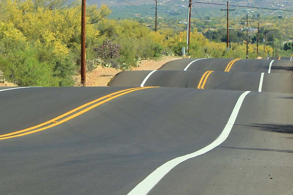 71069 - Newly Paved Road with Hilly Humps and Bumps | AZ Location ...